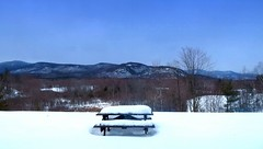 Scenic Vista Overlook (Icanpaint1) Tags: scenicvistaoverlook intervalenh viewofmountwashingtonvalley mountains mountainview winter winterwonderland winterlandscape whitemountains wjtphotos