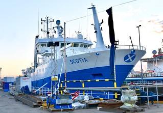 Scotia - Aberdeen Harbour Scotland - 26/3/2018