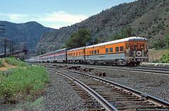 Good Times in Price Canyon (jamesbelmont) Tags: riogrande businesscar drgw pricecanyon passenger amtrak californiazephyr castlegate utah kansas colorado railway
