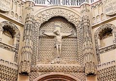 the crucifiction of Jesus (atsjebosma) Tags: murcia cathedral saintmary crucifiction kruisiging jesus pasen atsjebosma spain spanje details 2018