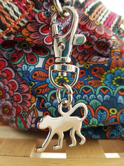 Monkey (Vee living life to the full) Tags: personal gifts phonephoto 2018 pattern clip monkey bag purse accessories