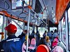 Bus Suroboyo  (1) (Detta Priyandika) Tags: surabaya suroboyo bus transportation feeder indonesia endonezya transportasi umum publik sidewalk pedestrian fasilitas pejalan kaki humanis livable city cities kota east java jawa timur tunjungan april 2018 street halte people move urban living life