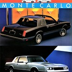 1988 Chevrolet Monte Carlo LS & SS Coupes (Canada) thumbnail