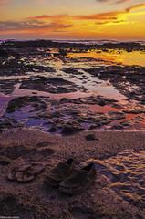 L1014630-Guanacaste. (marcelollobet) Tags: costarica costaricatravel costaricapuravida landscape beach pacificcoast sunset sea sky clouds rocks sand travel travelphotography