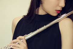 Flute (Yukari_Mika) Tags: music flute portrait art