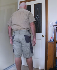 Dressed ready for the day (p1160280) (ChrisBearADL) Tags: me photo white pouch briefs bonds dad