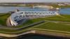 Maeslantkering (Peet de Rouw) Tags: stormvloedkering deltawerken maeslantkering stormfloodbarrier nieuwewaterweg rozenburg landtong aerial drone djimavicproplatinum