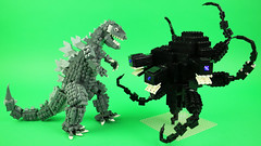 LEGO Godzilla vs Wither Storm (BRICK 101) Tags: lego minecraft godzilla