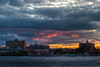Clearing Skies (aka Buddy) Tags: 2018 spring sunset navesink river sky clouds skyline redbank nj og hdr