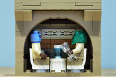Saw Gerrera Partisan HQ (graeme.watson) Tags: lego star wars saw gerreras hideout moc rogue one the catacombs cadera jeddah