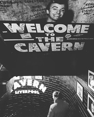 Welcome to The Cavern Club (christopher.czlapka) Tags: photography iphonography photo flickr beatles blackandwhite cavernclub liverpool