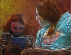 discovery (Bill Sargent) Tags: child tablet learning sharing