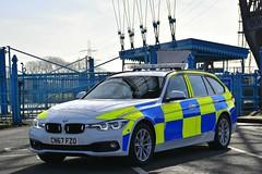 CN67 FZO (S11 AUN) Tags: gwent police heddlu bmw 330d estate touring anpr traffic car rpu roads policing unit 999 emergency vehicle cn67fzo