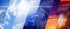 Weather forecast concept (pudy72) Tags: stripe weatherforecast metcast abstract background different beam beautiful blue bright climate cloud dark day glowing light lightning lightningbolt lightningstorm meteorology nature night nightsky rainstorm ray shine shiny sky stormy stormyclouds stormyskies stormysky sun sunlight sunset sunshine thunderbolt thunderstorm weather variety wf