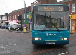 V507 DFT Volvo B10BLE / Wright Renown - Arriva North East 4507