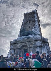Photo accepted by Stockimo (vanya.bovajo) Tags: stockimo iphonegraphy iphone shipka bulgaria monument liberation day balkans history historic bulgarian people crowd men women man woman