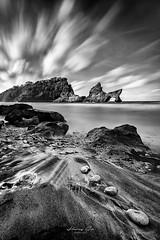 Atuh beach Nusa Penina (harrysio) Tags: summer asia hike nature sunrise atuhbeach beach atuh longexposure seascape blackandwhite nusapenida bali indonesia
