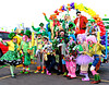 Colorado Clowns (Colorado Sands on break) Tags: stpatricksparade denver colorado parade irishparades festive event stpats us americanparades usa america stpaddys sandraleidholdt march 2016 stpatricksdayparade stpatricksday american parades unitedstates celebration clown coloradoclowns people costumes costume balloons