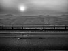 Descent/Ascent (I5 Series). South of Gorman, CA, Winter 2017. (j.m. gonzalez) Tags: freeways sun 2017californiawildfires ca california gorman omdem1 olympus interstate5 blackandwhitephotography roadphotography