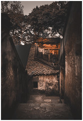 The Ancient Temple (=Heo Ngốc=) Tags: ancient temple sunlight orange dramatic old vietnam
