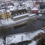 Vltava River, Český Krumlov, South Bohemia, Czech Republic thumbnail