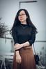 (SuBinZ) Tags: portrait áo dài dress girl gái young lady vietnam vietnamese flickr flickrcom beauty nikon cute d850 105mm tree park grass road aodai 85mm rain
