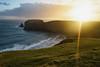 Silver Strand Sun (Phoenix Konstantin) Tags: sonya7 sonyfe28f20 sel28f20 28mm ireland countydonegal sunset sun beach wildatlanticway ocean atlantic bay
