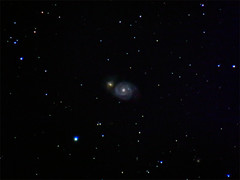 Whirlpool Galaxy (M51) (bencbright) Tags: whirlpool galaxy m51 star astrophoto night longexposure sx60 canonsx60 canon ioptron skytracker