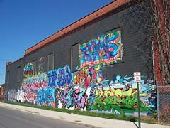 OH Columbus - Mural 89 (scottamus) Tags: columbus ohio franklincounty mural painting building art graffiti