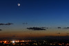 Evening planets & earthshine 🌒 (explored 21/03/2018) (Gwenael B) Tags: planets venus mercury lune moon earthshine waxingmoon astro astronomy astrophotography astrophoto night twilight