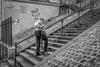Les escaliers de la butte... (Jean-Pierre OLLIVIER) Tags: escalier noiretblanc paris montmartre îledefrance streetphotography jpo 2015 france europe nb continentsetpays fr fra bw