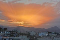 Sunset with dust from Sachara desert (Nikos Roditakis) Tags: sunset sachara desert heraklion crete march nikos roditakis nikon d5200 nikkor55200mm45 6ged