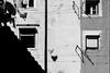 Friday is laundry day (ThorstenKoch) Tags: street streetphotography schatten stadt strasse shadow schwarzweiss silhouette sun sonne summer laundry short window friday weekend blackwhite bnw monochrome art architecture architektur alfama lissabon lisboa lisbon pov photography photographer picture pattern portugal fuji fujifilm thorstenkoch