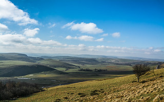 View from Rushup Edge....