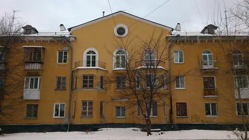 Старые дома на Вторчермете ©  ayampolsky