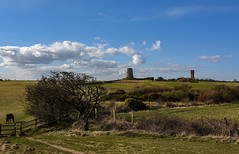 Cleadon hills.. countryside bliss ! (Mark240590) Tags: spring landscape watertower windmill wildlife hills countryside