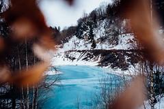 Blauer See im Winter (Gruenewiese86) Tags: 6d blauersee canon harz winter blau blauer see sachsenanhalt hüttenrode winterlandschaft schnee 35mm