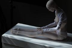 Amadiz Angels Yolande unboxing (dolls of milena) Tags: bjd resin doll art amadiz angels yolande ballet unboxing arrival