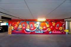Sentrock (drew*in*chicago) Tags: chicago 2018 graffiti street art artist paint painter tag mural garage