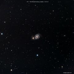 M51 Whirpool Galaxy (Ralph Smyth) Tags: m51 whirlpool astrometrydotnet:id=nova2488833 astrometrydotnet:status=solved