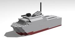 Torpedo boat (GBDanny96) Tags: lego moc navy ship torpedo boat world war 2 ww2 military vehicle