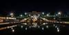 Civic sparkles (OzzRod (on the road again)) Tags: pentax k1 laowa12mmf28zerod night lights starbursts fountain jets spray movement bicentenary captcook citylibrary civicpark newcastle australia