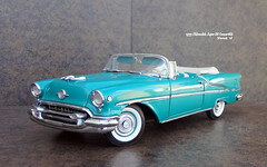 1955 Oldsmobile Super 88 Convertible (JCarnutz) Tags: 124scale diecast danburymint 1955 oldsmobile super88