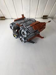 IMG_9787 (Davidoff1999) Tags: lego star wars jedi clone droid r2d2 battle ship frigate starfighter quadjumper jakku unkar plutt force awakens corvette moc custom build