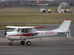 G-BRBH Cessna 150 Horizon Aircaft Engineering Ltd (Aircaft @ Gloucestershire Airport By James) Tags: gloucestershire airport gbrbh cessna 150 horizon aircaft engineering ltd egbj james lloyds