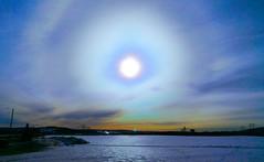 WormHole, who is coming? (evakongshavn) Tags: sun halo winter landscape negativespace 7dwf crazytuesday crazytuesdaytheme vortex wormhole