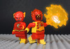 Flash and Firestorm (-Metarix-) Tags: lego minifig super hero dc comics comic firestorm flash jefferson jaxson barry allen cw tv legends tomorrow