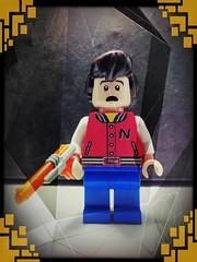 Ultimate Warp Zone to Videoland (LegoKlyph) Tags: lego brick block mini figure captain n game master kevin keene warp zone nintendo videoland mother brain team cartoon video games nes
