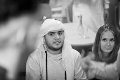 Nouruz 2018 (Anders Österberg) Tags: portrait porträtt nouruz nyår persiskt girl young man sweden 2018 sverige blackandwhitephoto