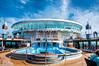 Floating Pool (Tony Shertila) Tags: atlantic cruise deck europe people seaship sunbathing swimmingpool transport vacation